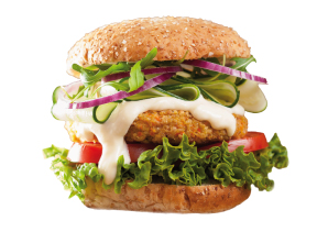 Burger Vegetariano - Mordi e fuggi Lesmo